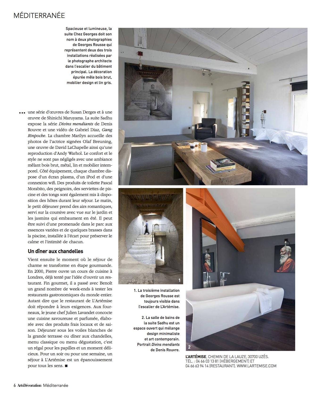Art Et Decoration Juin 2017 presse -