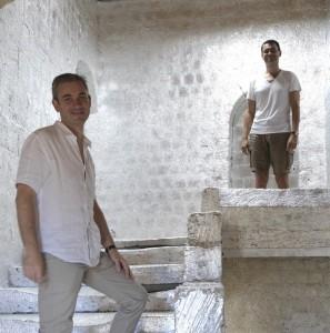 Les propriétaires de l'Artemise Pierre et Benoît
